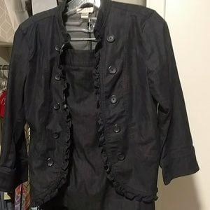 NWOT LOFT Denim Suit